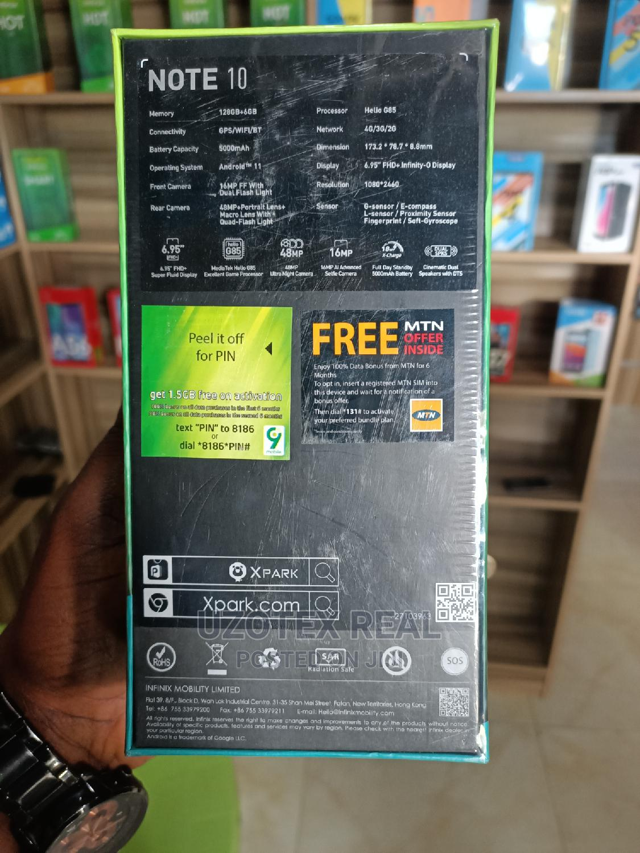 New Infinix Note 10 128 GB Green