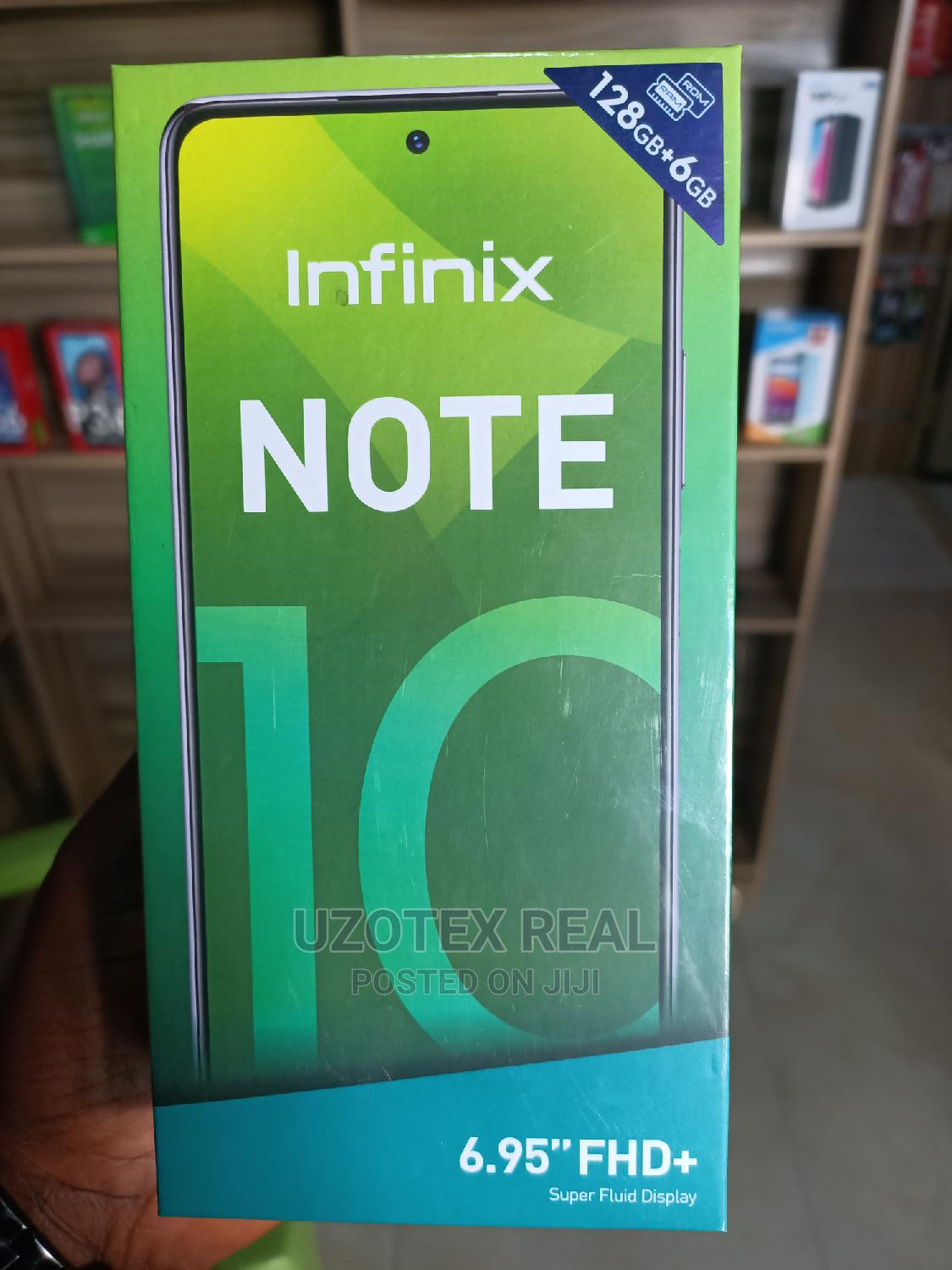 New Infinix Note 10 128 GB Green | Mobile Phones for sale in Zuba, Abuja (FCT) State, Nigeria