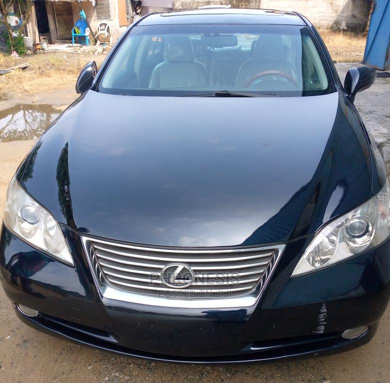 Lexus ES 2008 350 Black