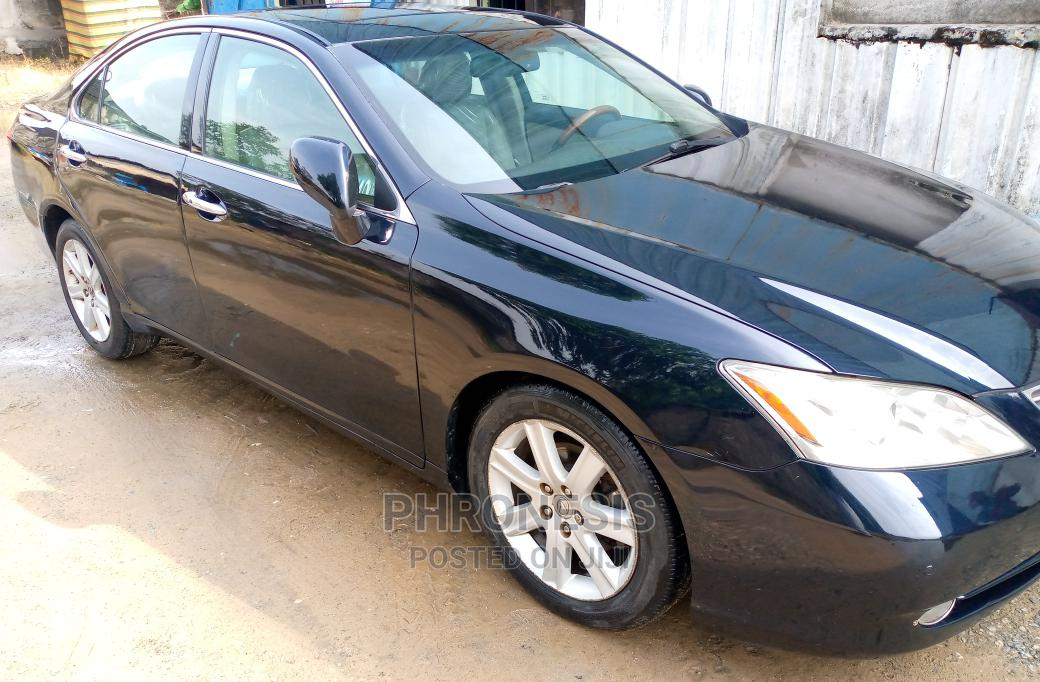 Lexus ES 2008 350 Black | Cars for sale in Warri, Delta State, Nigeria