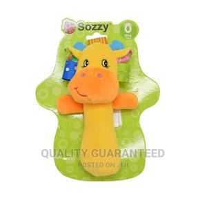 Baby Toys 0-12 Months Cartoon Animal Baby Plush Rattle | Toys for sale in Lagos State, Yaba