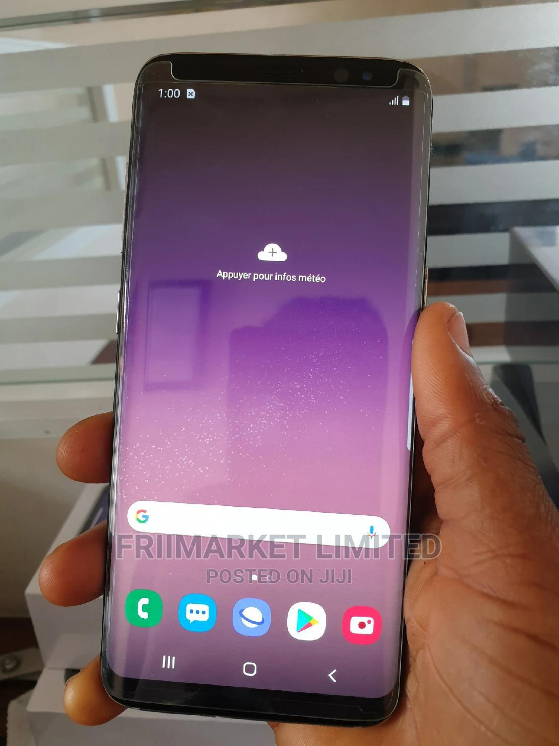 Samsung Galaxy S8 64 GB Silver   Mobile Phones for sale in Ekpoma, Edo State, Nigeria
