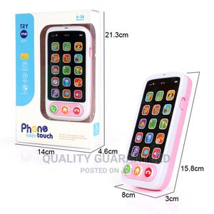 Simulation Mobile English Language Baby Kids Toy Phone Child | Toys for sale in Lagos State, Yaba