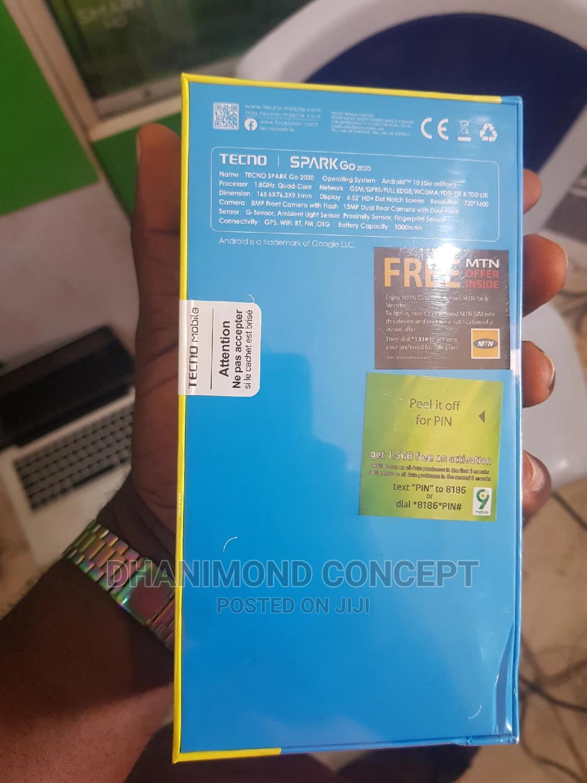 Archive: New Tecno Spark Go 2020 32 GB