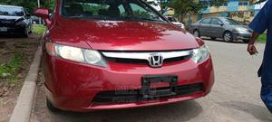 Honda Civic 2008 Red   Cars for sale in Abuja (FCT) State, Lokogoma