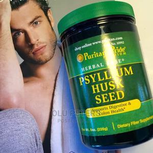 Puritan Pride Psyllium Husk 750mg | Vitamins & Supplements for sale in Lagos State, Surulere
