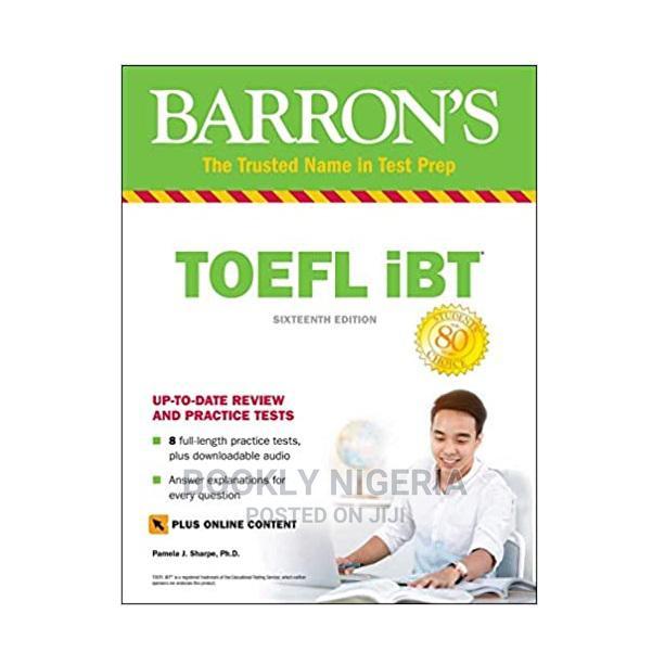 Archive: Barron'S TOEFL Ibt (Sixteenth Edition)
