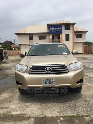 Toyota Highlander 2008 4x4 Gold | Cars for sale in Lagos State, Amuwo-Odofin