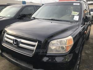 Honda Pilot 2007 EX-L 4x4 (3.5L 6cyl 5A) Silver | Cars for sale in Lagos State, Ifako-Ijaiye