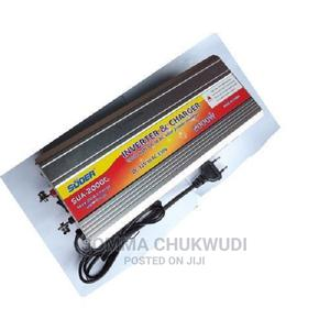 Suoer 2000w Inverter With 20a Inbult Charger   Accessories & Supplies for Electronics for sale in Lagos State, Mushin