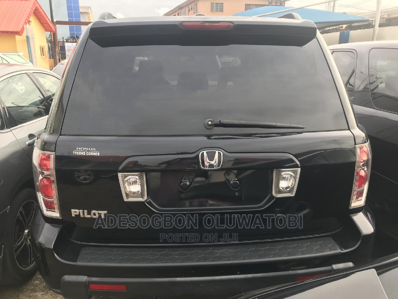 Honda Pilot 2007 EX-L 4x4 (3.5L 6cyl 5A) Silver   Cars for sale in Ifako-Ijaiye, Lagos State, Nigeria