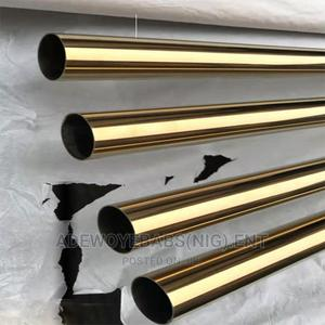 Gold Stainless Steel Pipe | Building Materials for sale in Lagos State, Orile