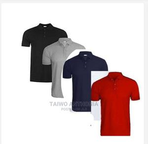 4 in 1 Quality Men's Polo Tshirt | Clothing for sale in Rivers State, Port-Harcourt