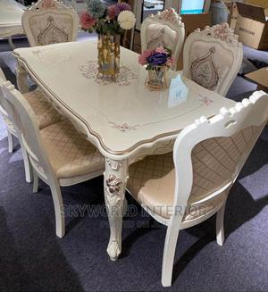 Royal Wooden Dinning Table. | Furniture for sale in Lagos State, Ikeja