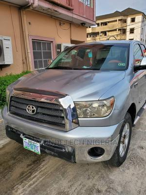 Toyota Tundra 2008 Double Cab Silver | Cars for sale in Delta State, Warri
