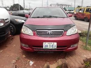Toyota Corolla 2004 Sedan Automatic Red | Cars for sale in Edo State, Benin City