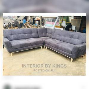 U-Shaped Fabric Sofa.This Sofa Is a Modern Sofa .   Furniture for sale in Lagos State, Ogudu