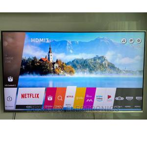 55 Inch LG Webos Smart 4K UHD AI Thinq LED TV - London Used   TV & DVD Equipment for sale in Lagos State, Ojo