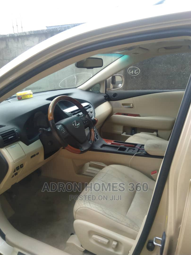 Lexus RX 2010 350 Gold   Cars for sale in Ikeja, Lagos State, Nigeria