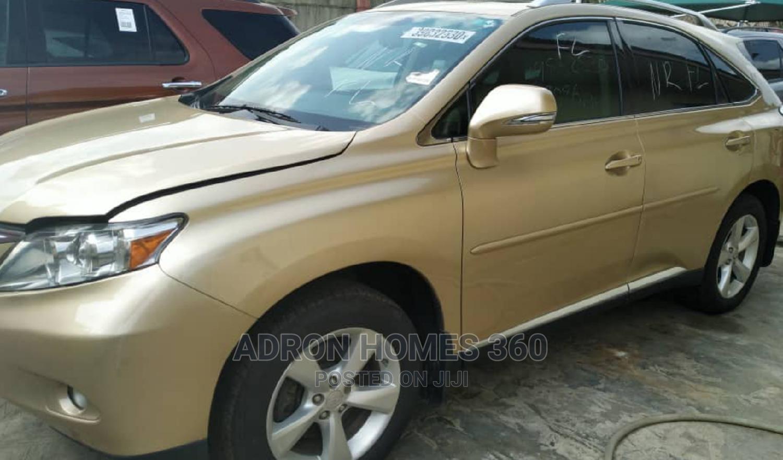 Lexus RX 2010 350 Gold