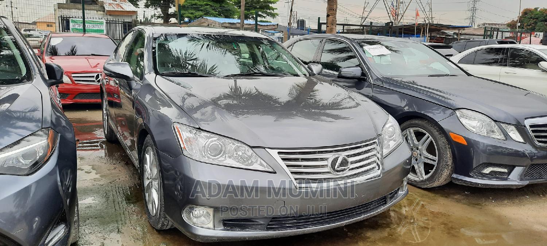 Lexus ES 2012 350 Gray