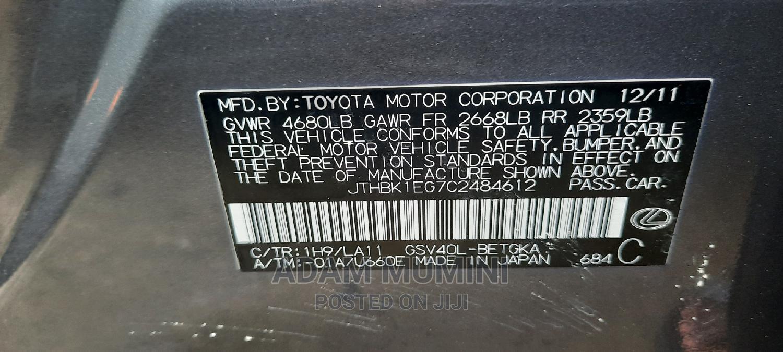 Lexus ES 2012 350 Gray   Cars for sale in Ajah, Lagos State, Nigeria