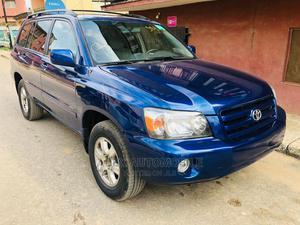 Toyota Highlander 2004 V6 AWD Blue   Cars for sale in Lagos State, Ikeja