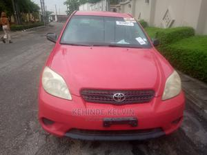 Toyota Matrix 2005 Red   Cars for sale in Lagos State, Ojodu