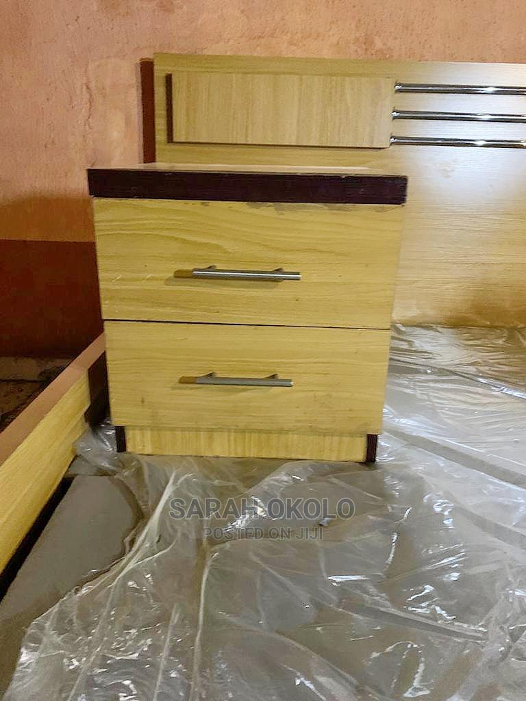 Beautiful Standard 6×6 Bedframe With Two Side Drawer Stools   Furniture for sale in Alimosho, Lagos State, Nigeria