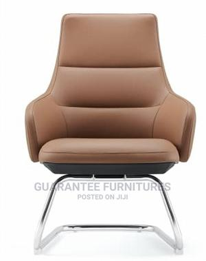 Italian Pure Leather Executive Office Visitors Chair   Furniture for sale in Lagos State, Ikoyi