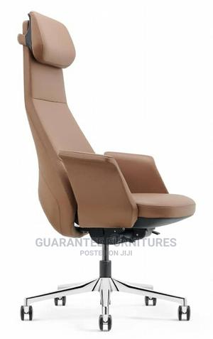 Italian Pure Leather Executive Office Swivel Chair   Furniture for sale in Lagos State, Ojo