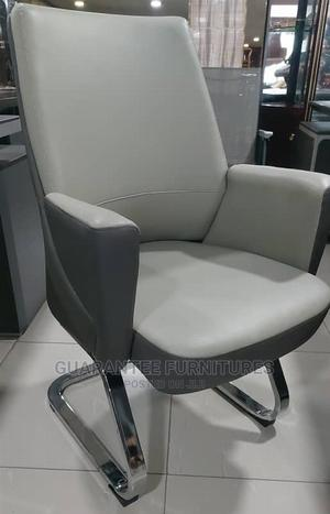 Italian Pure Leather Executive Office 360° Visitors Chair   Furniture for sale in Lagos State, Ojo