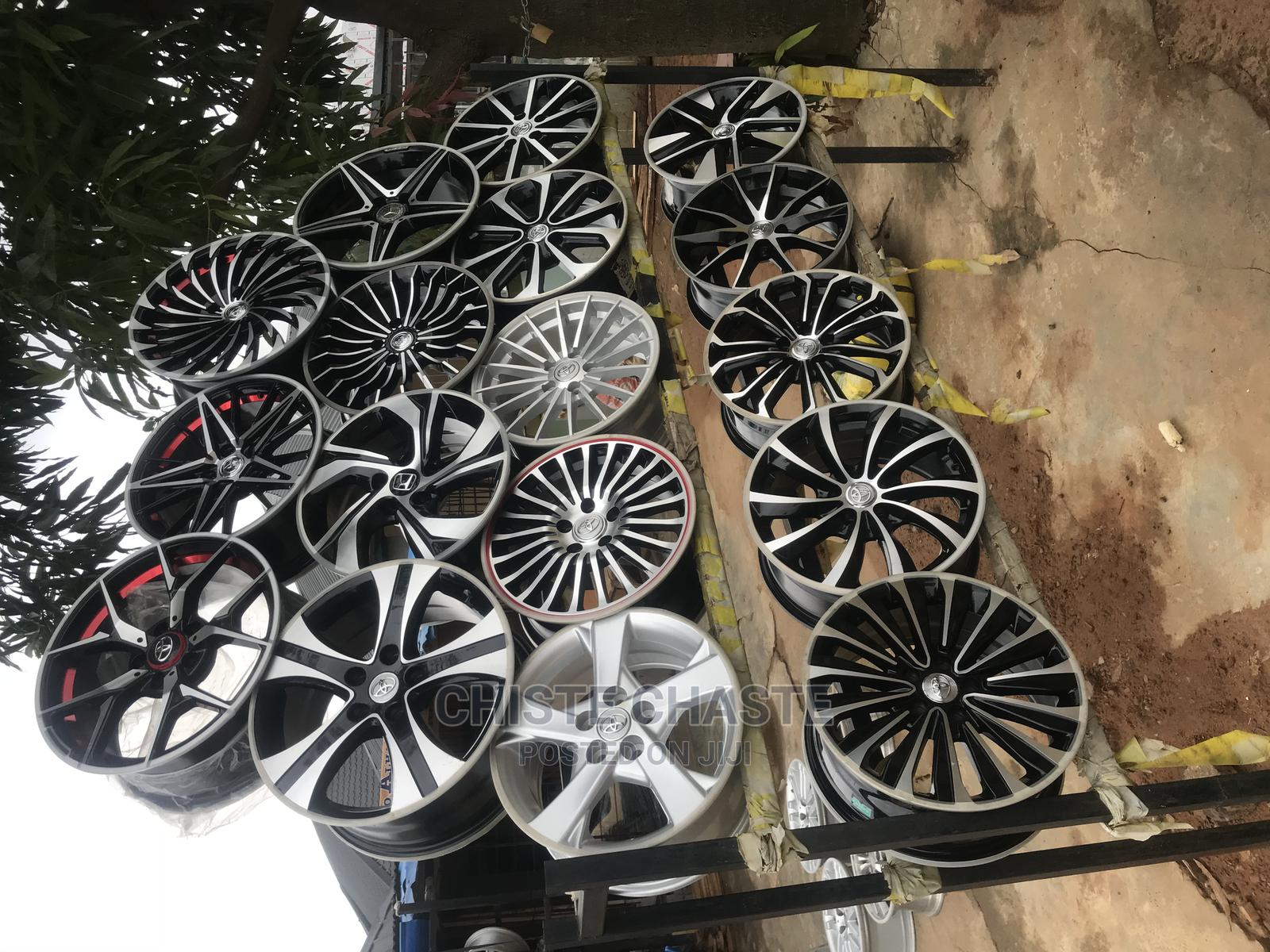 Archive: New Alloy Rims and New Tires Available