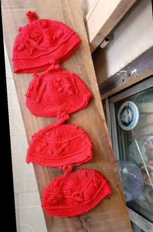 Igbo Knitted Red Cap   Clothing Accessories for sale in Lagos State, Oshodi