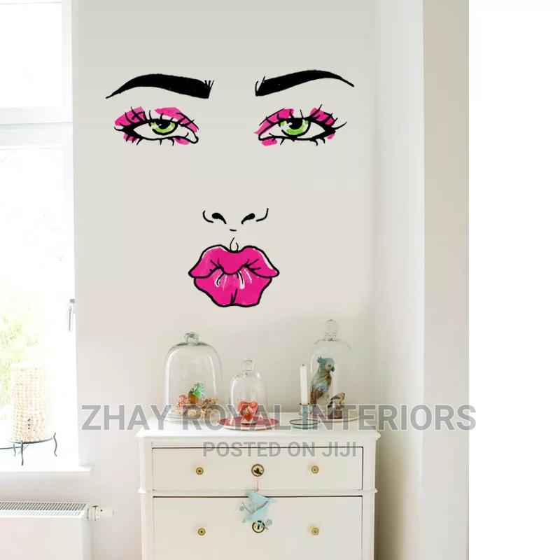 Lady Face Wall Sticker   Home Accessories for sale in Alimosho, Lagos State, Nigeria