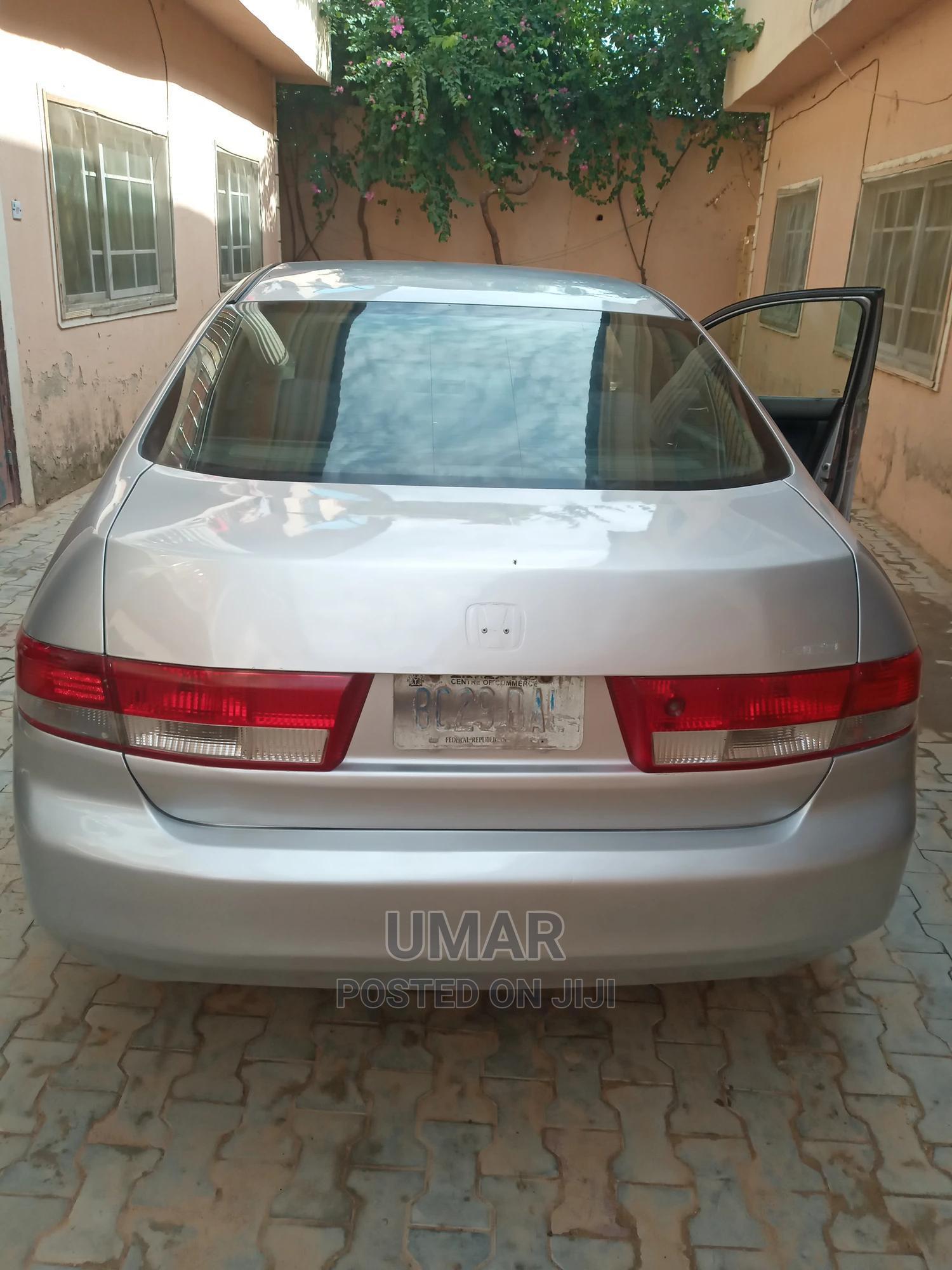 Honda Accord 2003 2.4 Automatic Silver | Cars for sale in Nasarawa-Kano, Kano State, Nigeria