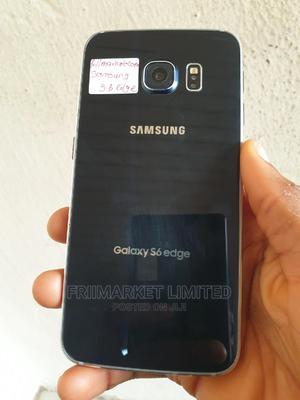 Samsung Galaxy S6 edge 32 GB Black   Mobile Phones for sale in Edo State, Okada