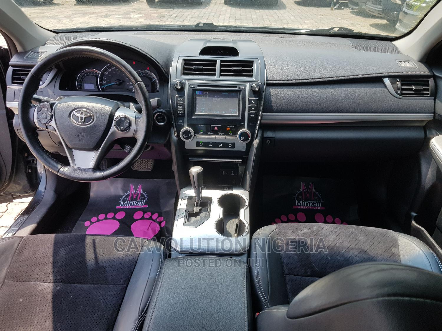 Archive: Toyota Camry 2012 Black