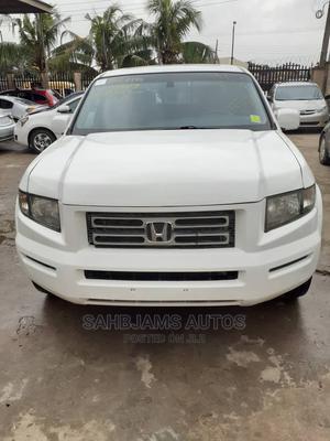Honda Ridgeline 2008 RTL White   Cars for sale in Lagos State, Isolo