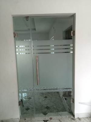 Frameless Double Hinge Door | Doors for sale in Lagos State, Agege