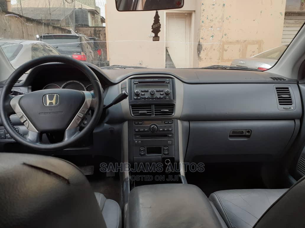 Honda Pilot 2008 EX-L 4x4 (3.5L 6cyl 5A) White | Cars for sale in Isolo, Lagos State, Nigeria