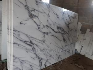 China Thunder White Quartz Marble Slab | Building Materials for sale in Lagos State, Orile
