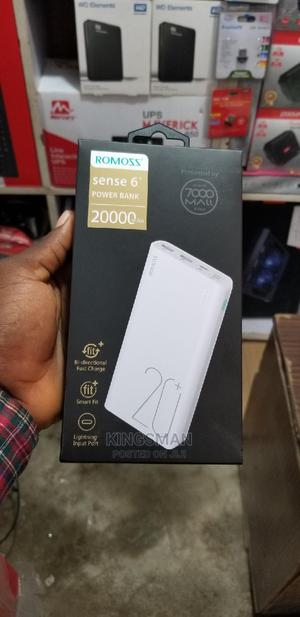 Romoss Sense6 20,000mah Power Bank | Accessories for Mobile Phones & Tablets for sale in Lagos State, Ikeja
