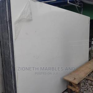 Nigerian White Quartz Marble Slab | Building Materials for sale in Lagos State, Orile