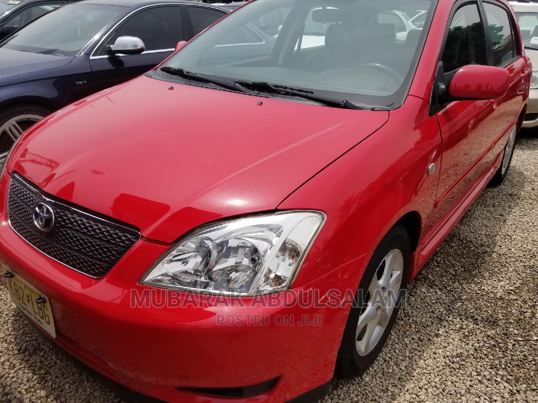 Toyota Corolla 2003 Sedan Automatic Red