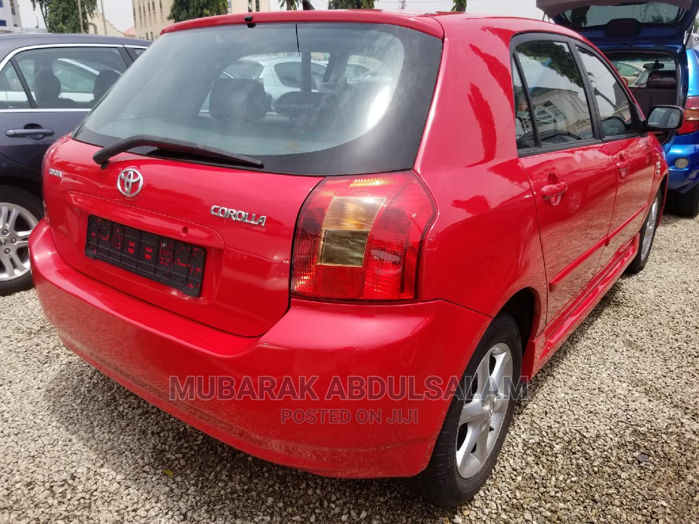 Toyota Corolla 2003 Sedan Automatic Red   Cars for sale in Kaduna / Kaduna State, Kaduna State, Nigeria