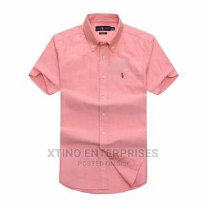 Ralph Lauren Plain Packet Shirt Short Sleeve Original   Clothing for sale in Lagos State, Surulere