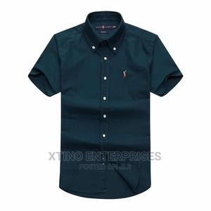 Original Ralph Lauren Plain Packet Shirt Short Sleeve   Clothing for sale in Lagos State, Surulere