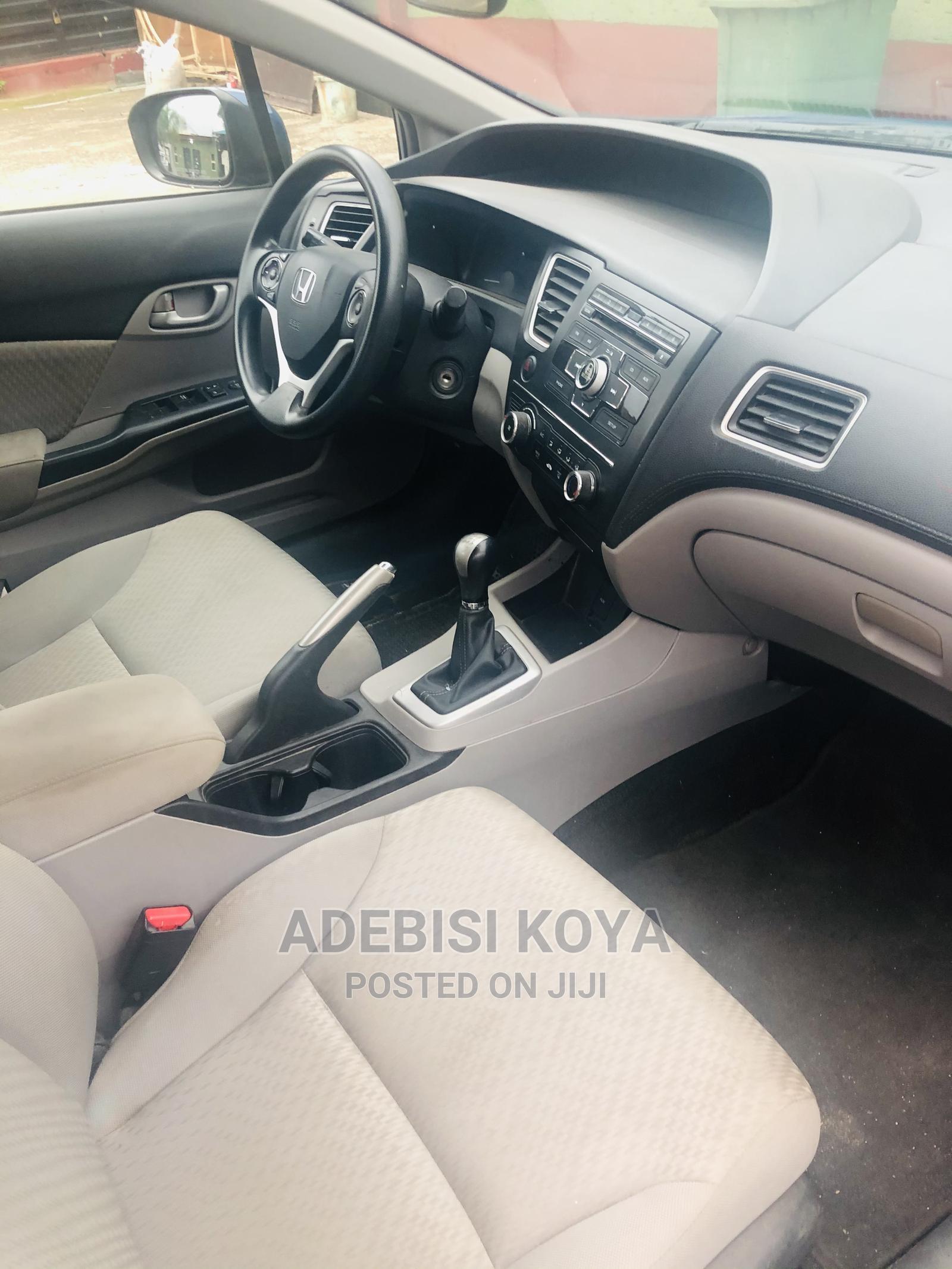 Honda Civic 2015 Blue | Cars for sale in Abule Egba, Lagos State, Nigeria