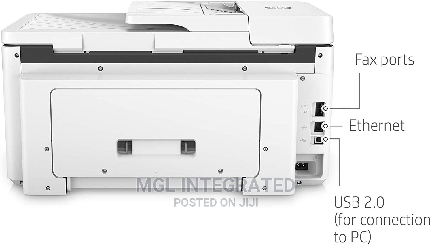 HP Officejet Pro 7720 All In One Wide Format Printer | Printers & Scanners for sale in Ikeja, Lagos State, Nigeria